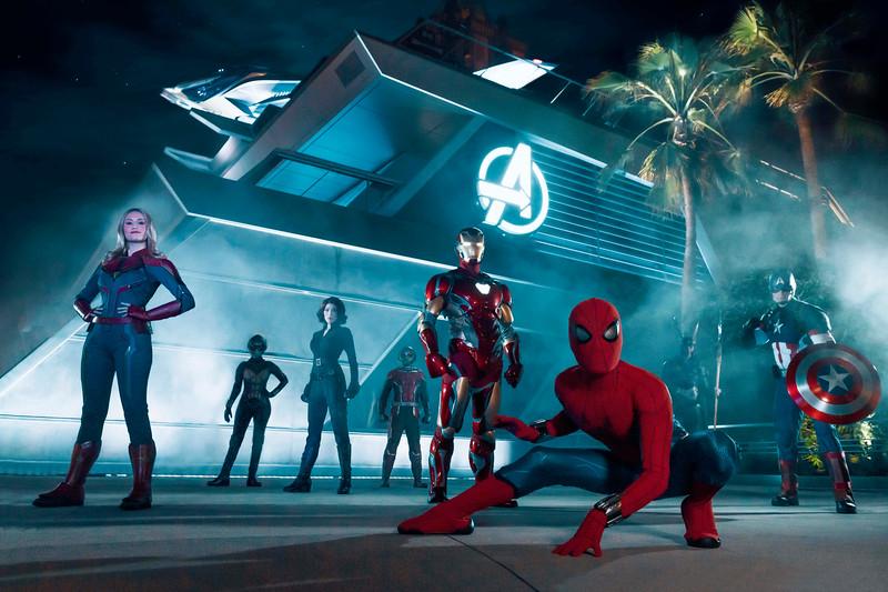 Avengers Campus at Disney California Adventure Park