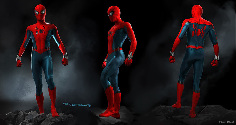 Details on SPIDER-MAN's new suit and the immersive elements of his new upcoming attractions
