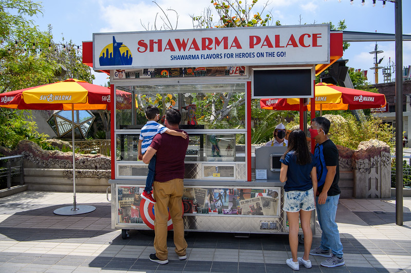 Shawarma Palce at Avengers Campus