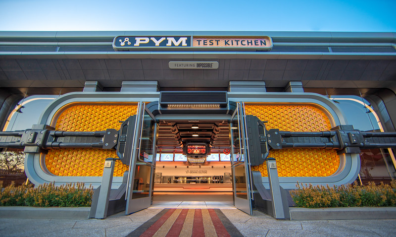 Pym Test Kitchen featuring Impossible™ Foods at Avengers Campus