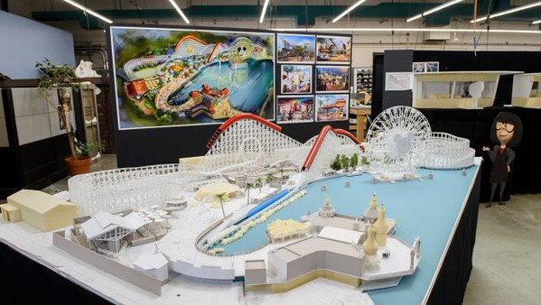Working Model of Pixar Pier Shows Newly Themed Areas Coming Summer 2018 to Disney California Adventure Park