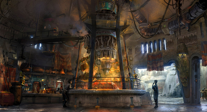PHOTOS: A look at the food, merch, and rides coming to STAR WARS: GALAXY'S EDGE!