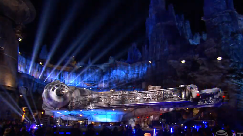 WATCH: Tune in now for live-stream of STAR WARS: GALAXY'S EDGE Dedication Moment!