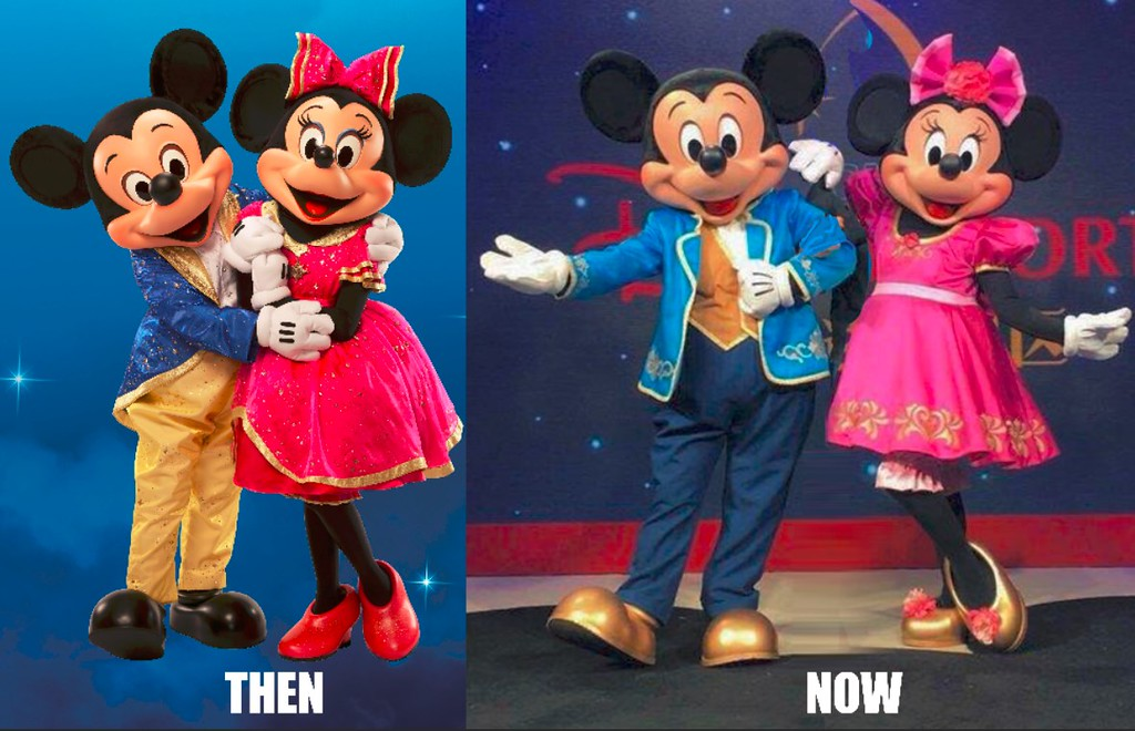 Mickey and Minnie characters refreshed for Disney Parks