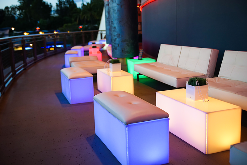 Up-charge: Tomorrowland Skyline Lounge Experience; $45 for reserved fireworks viewing, snacks, lounge