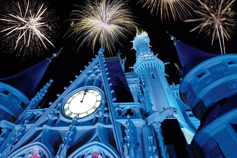 Celebrating New Years Eve at Walt Disney World Resort