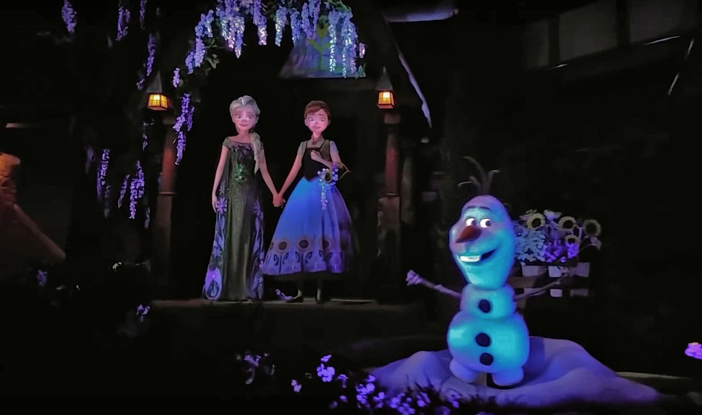 WATCH: 'Frozen Ever After' attraction at EPCOT debuts fantastic songs, animated figures