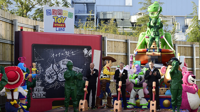 TOY STORY LAND officially coming to Shanghai Disneyland