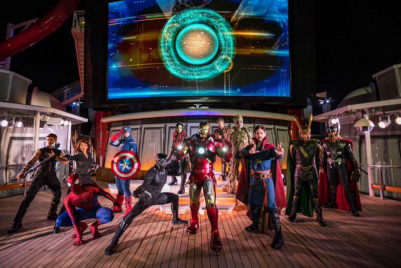 'Marvel' and 'Star Wars' Day at Sea return to Disney Cruise Line in 2019