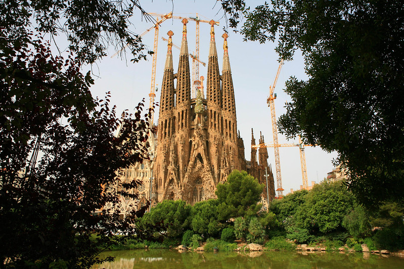 Barcelona, Spain - La Sagrada Familia