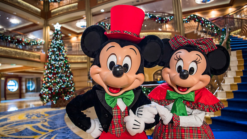 You can still enjoy the magic of the holidays aboard DISNEY CRUISE LINE!