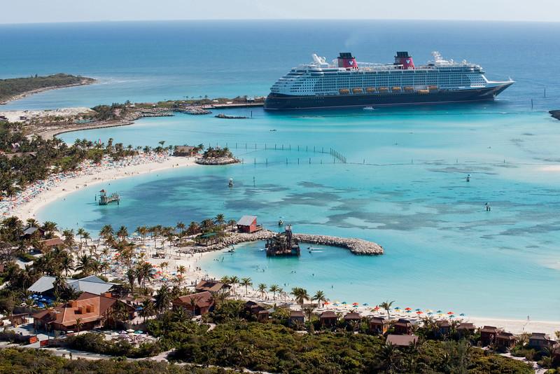 Disney Dream at Disney's Private Island Castaway Cay