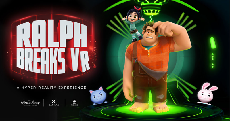RALPH BREAKS VR set to debut this fall at Disneyland Resort, Walt Disney World
