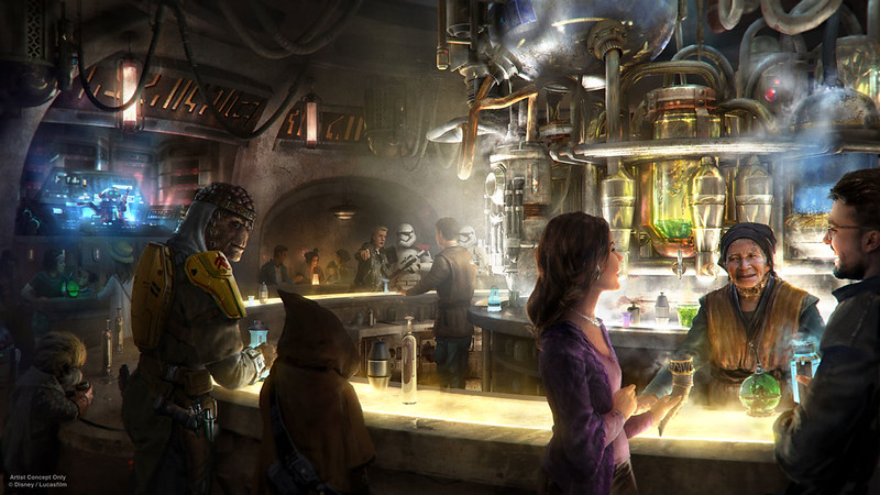 Disneyland Park to begin serving alcohol with new STAR WARS themed cantina