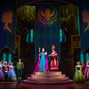 ELSAÕS CORONATION IN 'FROZEN Ð LIVE AT THE HYPERION' -- A new theatrical interpretation for the stage based on DisneyÕs animated blockbuster film, Frozen is now playing at the Hyperion Theater at Disney California Adventure Park. The show immerses audiences in the emotional journey of Anna and Elsa with all of the excitement of live theater, including elaborate costumes and sets, stunning special effects and show-stopping production numbers. (Piotr A. Redlinski/Disneyland Resort)