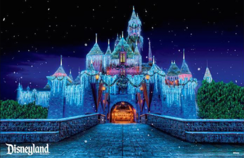 Free Sleeping Beauty Winter Castle poster for Grand Californian Hotel guests