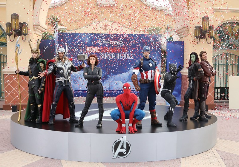 Disneyland Paris MARVEL SUMMER OF SUPER HEROES debuts at Walt Disney Studios Park