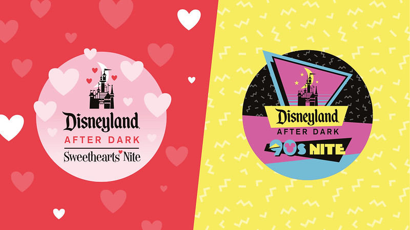 DISNEYLAND AFTER DARK 2019 events invite you to meet favorite 90s characters and/or feel the love