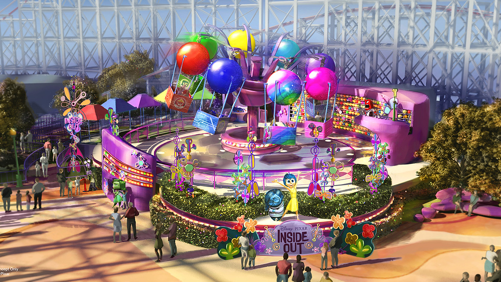 Pixar Pier will bring an Emotional Whirlwind in 2019