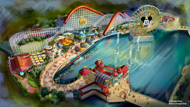 PIXAR PIER will be ready at DCA for summer 2018, here's the details!