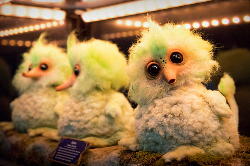 Flock of Vyloos on display at DCA's 'Guardians of the Galaxy – Mission: BREAKOUT'