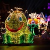 A COLORFUL HOMECOMING – Jittering insects light up the parade route in beautiful, bright colors during the Main Street Electrical Parade at Disneyland park.  The Main Street Electrical Parade will run for a limited-time, through June 18, 2017, at Disneyland park. (Scott Brinegar/Disneyland)