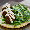 SAVORY STRENGTH FALAFEL PITA – Guests will find hero-inspired food and beverage at Disney California Adventure Park for the Summer of Heroes from May 27 to Sept. 10. (Disneyland Resort)