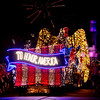 A COLORFUL HOMECOMING – The Main Street Electrical Parade concludes with 118 feet long patriotic float to honor America in a spectacular finale at Disneyland park. The Main Street Electrical Parade will run for a limited-time, through June 18, 2017, at Disneyland park. (Scott Brinegar/Disneyland)