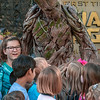 "'GUARDIANS OF THE GALAXY: AWESOME DANCE OFF!' — Groot visits with guests during ""Guardians of the Galaxy: Awesome Dance Off!"" at Disney California Adventure Park where they will hear him utter his three favorite words ""I am Groot!"" Guests will find excitement throughout Hollywood Land during Summer of Heroes with the Avengers Training Initiative featuring Black Widow and Hawkeye, and heroic encounters with Black Widow, Captain America and Spider-Man. (Joshua Sudock/Disneyland Resort)"