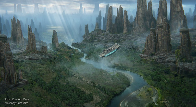 'Black Spire Outpost' confirmed as Galaxy's Edge village name, 2019 opening seasons confirmed