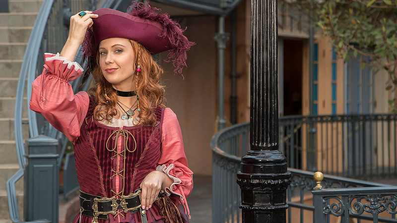 Are you Redd-y? The 'redhead' from Pirates lands at Disneyland starting June 8