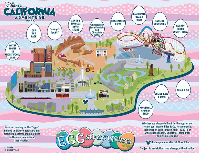 Disney 'EGG-stravaganza' is coming back once again to Disneyland Resort