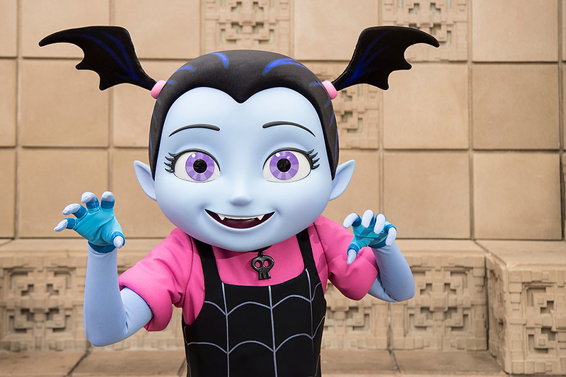 FIRST LOOK: Vampirina character flies into Disney Parks in time for #HalloweenTime!