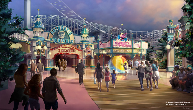 PIXAR FEST confirmed with new Disneyland fireworks; PAINT THE NIGHT at DCA plus Paradise Pier retheme