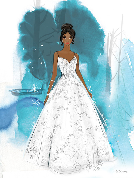 Disney collaboration with Allure Bridals unveils timeless new collection