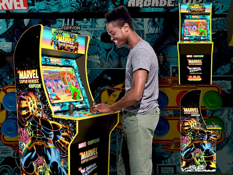 Start your home arcade with Capcom's 'Marvel Super Heroes' home arcade machine