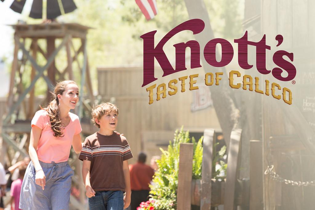 knott's taste of calico event 2020
