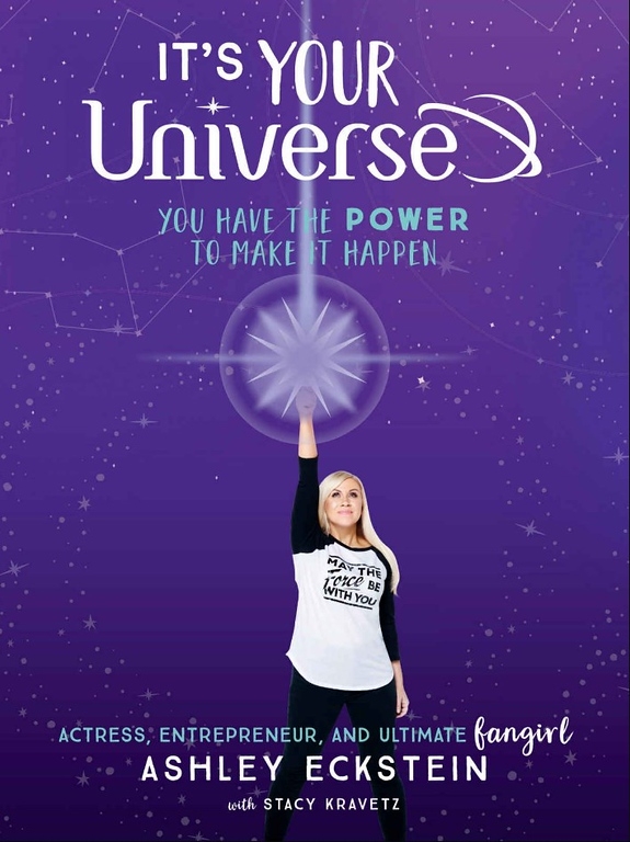 YOU COULD WIN a copy of the book 'It's Your Universe' by @HerUniverse founder Ashley Eckstein
