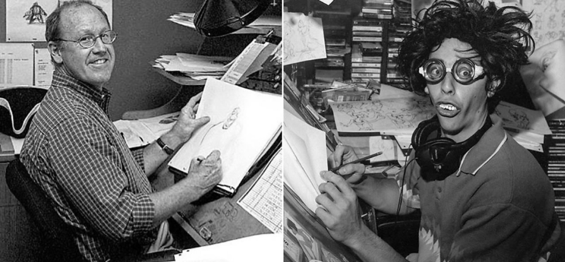 PHOTOS: Awesome Disney Animators from the 90's just casually creating childhoods