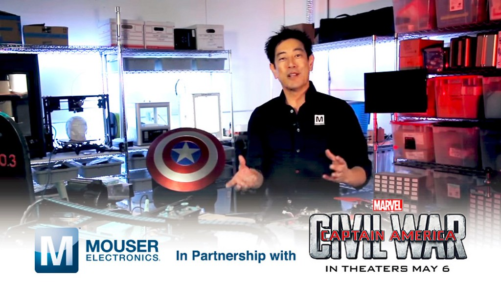 Real-life working versions of Cap's Shield and Iron Man's Gauntlet to be created in new series