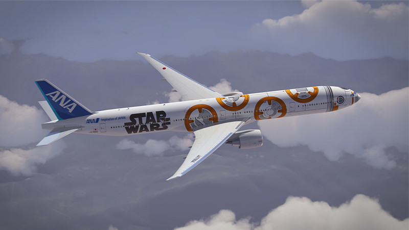 New BB-8 plane takes flight in celebration of STAR WARS: THE FORCE AWAKENS with ANA