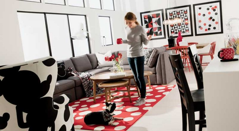 Mickey Mouse inspired home collection with more than 500 pieces launches at Ethan Allen
