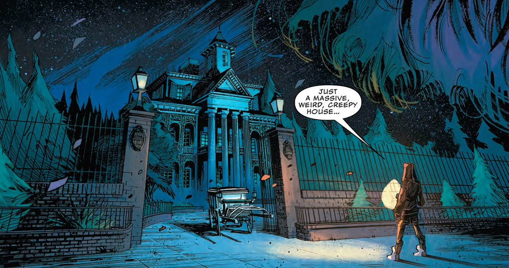 REVIEW: Marvel Disney Kingdoms HAUNTED MANSION #1, ghoulish delight for young and old
