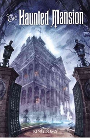 Collectible: THE HAUNTED MANSION collection (hardcover) combines all five issues, concept art