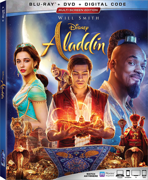 ALADDIN (2019) flying fast for splashy home release