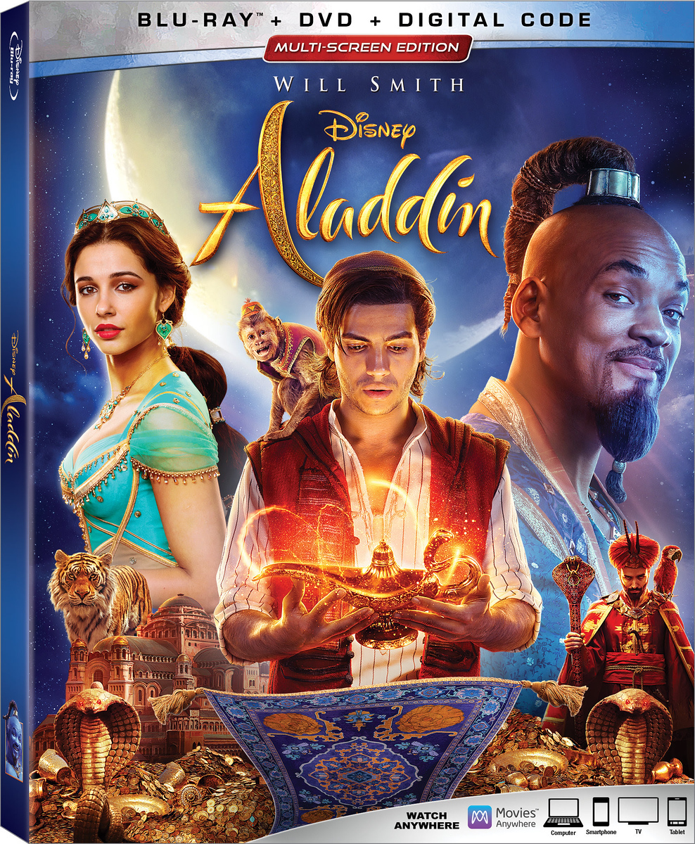 REVIEW: Live-action ALADDIN (2019) home release not quite a diamond in the rough but still some gems