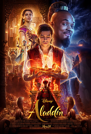 Another look into Disney's upcoming live-action ALADDIN with two new videos!