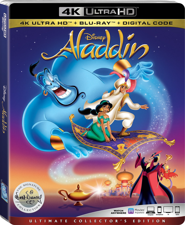aladdin walt disney signature collection bluray boxshot