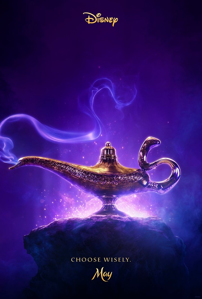 ALADDIN teaser poster unveiled, first-look video follows
