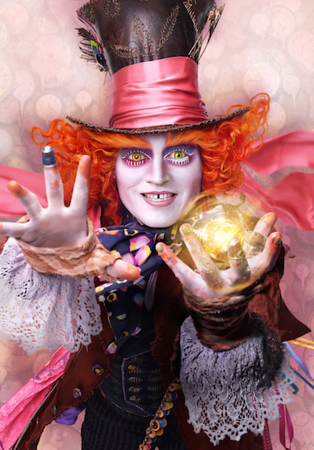 First look at character images from ALICE THROUGH THE LOOKING GLASS
